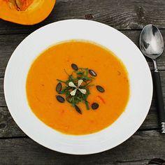 Kürbis- Möhren-Orangen Suppe