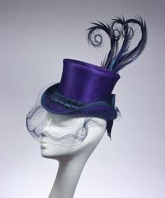 Top Hat in Purple