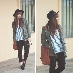 Maddy C. Parka Kaki, Classic Style, Style Me, V Cute, Cold Weather Fashion, Green Coat, Got The Look, Fashion Stylist, Style Guides
