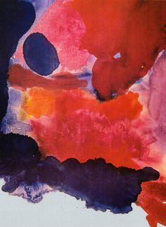 Helen Frankenthaler / Blue Atmosphere