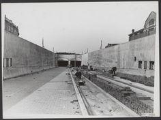Bouw Maastunnel.