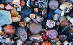 Beach Stones Texture Fullscreen