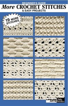 Leisure Arts - Beginner's Guide More Crochet Stitches