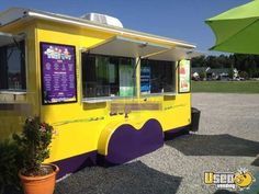 New Listing: http://www.usedvending.com/i/Erskine-Sons-Shaved-Ice-Sno-Cone-Concession-Trailer-for-Sale-in-Arkansas-/AR-P-515O Erskine & Sons Shaved Ice / Sno Cone Concession Trailer for Sale in Arkansas!