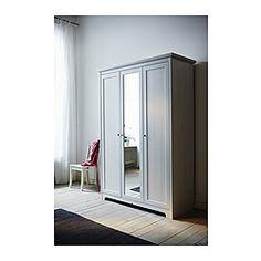 ASPELUND Wardrobe with 3 doors - IKEA. $250