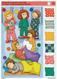 Dinosaurs Preschool, Preschool Learning Activities, Preschool Printables, Infant Activities, Preschool Activities, Kids Learning, Picture Comprehension, Visual Perception Activities, Educational Games For Kids