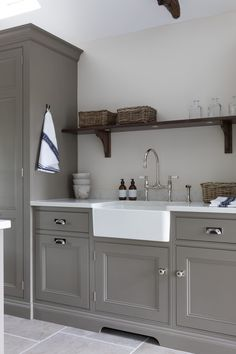 Home Decor Kitchen, Country Kitchen, Kitchen Interior, Room Interior, Interior Design Living Room, Kitchen Design, Room Kitchen, Kitchen Ideas, Utility Room Designs