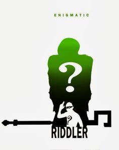 Enigmatic - The Riddler by Steve Garcia--- Edward Nigma is my favorite Batman villain besides Deathstroke, Slade Wilson.