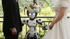 A survey of people by French advertising firm Havas has revealed that of millenials think human-robot romance will become more normalized. Moon Wedding, Dream Wedding, Wedding Venue Decorations, Wedding Venues, Photography Business, Wedding Photography, Japanese Couple, Diy Your Wedding, Let's Get Married
