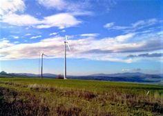 Impianto minieolico 10kW - ARIANO IRPINO (AV) Realizzato nel 2009  Lat. 41.137° - Long. 15.223°