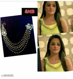 Checkout this latest Jewellery Set Product Name: *Trendy Women's Broh* Country of Origin: India Easy Returns Available In Case Of Any Issue   Catalog Rating: ★4.2 (8763)  Catalog Name: Feminine Trendy Womens Brohs CatalogID_273897 C77-SC1093 Code: 502-2068485-924