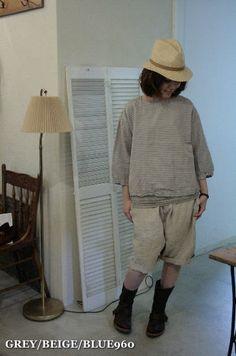 【楽天市場】【送料無料】■ARMENアーメン■NAM1242BLINEN COTTON BORDER BOAT NECK 3/5 SL SHIRT:b.cachette