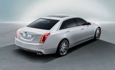 2016 Cadillac CT6 - Provided by Car and Driver