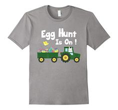 $12.95 Amazon.com: Egg Hunt Is ON ! Funny Easter T-Shirt Design: Clothing