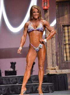 Krista Dunn 10th Felicia Romero Pro 2014 Fitness Class