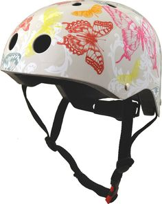 Kiddimoto Helmet Butterflies