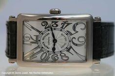 Franck Muller Long Island 750 18 K Weissgold Quarz - Limitiert - Jilemo Juwel Luxusuhren & Markenschmuck