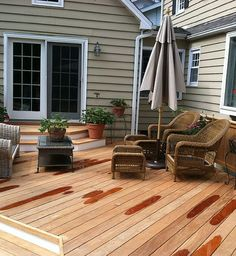 Garapa hardwood decking is a beautiful golden color and is naturally resistant to decay, insects and rot.