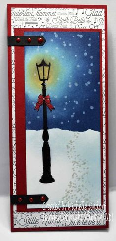 Brightly Lit Christmas – Stampin' Up! Card