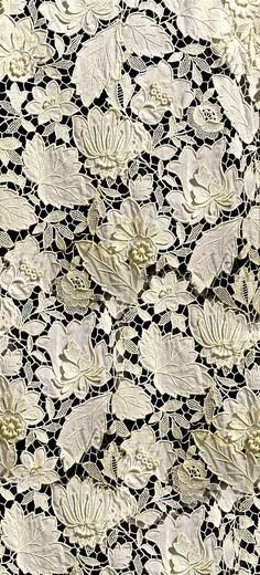 Antique lace. Cutwork embroidery. Needlework. So beautiful and delicate!
