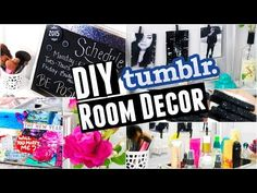 DIY Tumblr Inspired Room Decor | Cute + Cheap! - YouTube