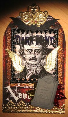 VPI - Gothic Arch ATC´s Edgar Allan Poe