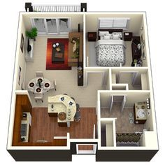 3d small tiny house floor plans in addition 2 bedroom house floor plans 3d as…