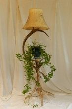 Caribou Floor Lamp with Table