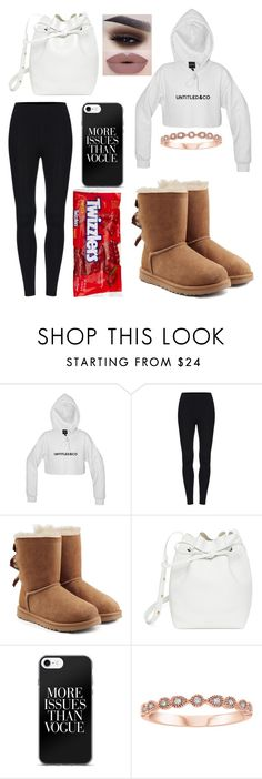 """Untitled #393"" by xxjamiexxx ❤ liked on Polyvore featuring UGG and Mansur Gavriel"