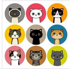 Korea Waterproof cute cartoon cat and doll by JolinTsai on Etsy, $5.30