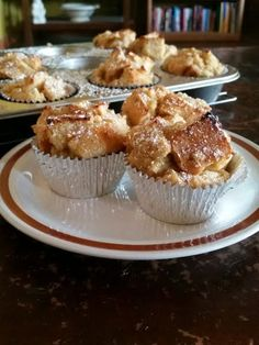 "French Toast Muffins! 4.88 stars, 17 reviews. ""Very easy recipe to follow. Good taste... I enhanced it with some strawberries as garnish before serving. Nicely done!"" @allthecooks #recipe #breakfast #muffins #dessert #toast #french"