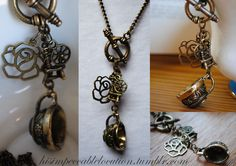 Once Upon A Time: Rumbelle Necklace by yrantho.deviantart.com