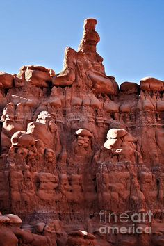 Goblin Valley State Park, Utah- Been there 3 times!  Kids love climbing there!  My son climbed to the top when he was 15!