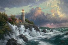 Conquering the Storms | The Thomas Kinkade Company