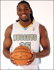 Denver Nuggets forward, Kenneth Faried is one of the first professional sports athletes to support gay rights. Professional sports is one of the last bastions of homophobia and Mr. Faried represents a new era in sports. I admire the young man greatly for standing up to homophobia and hate. I got nothing but respect for him.