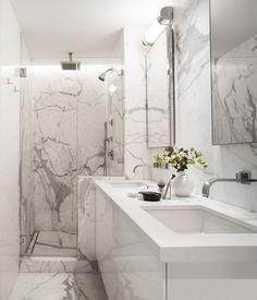 Luxus Marmor Bad Mit Dusche Und Badewanne | Projekt | Pinterest Luxus Badezimmer Marmor