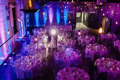 Awesome wedding lighting