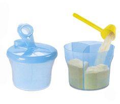 Dit compacte melpoederveeldoosje van Avent bestaat uit drie gelijke doseringen van melkpoeder in afzonderlijke vakjes. Wanneer de baby honger heeft, moet je enkel het deksel openen en de melkpoeder in de zuigfles te gieten. Kinderspeciaalzaak 'In de wolken' - Mortsel