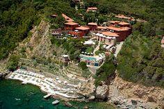 Tuscany - Pellicano hotel in Porto Ercole