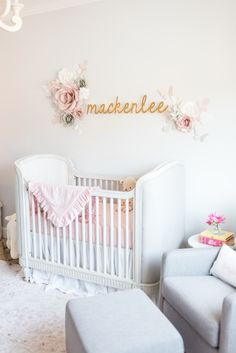 In The Nursery With Matt And Angela Lanter. Baby Nurseries IdeasPink ...
