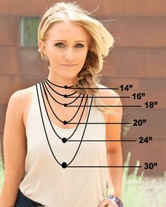 Jewelry Sizing Guide - make this a printout and give as take home chart