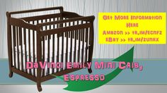 DaVinci Emily Mini Crib Espresso|mini emily|crib davinci|white|davinci e...