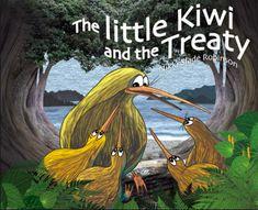 Little Kiwi and the Treaty ~ Hardback ~ Nikki Slade Robinson Best Children Books, Childrens Books, Treaty Of Waitangi, Waitangi Day, Harmony Day, Tiki Art, City Library, Day Book, Holiday Festival
