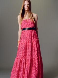 Naughty Dog SS15 precious Sangallo lace dress.