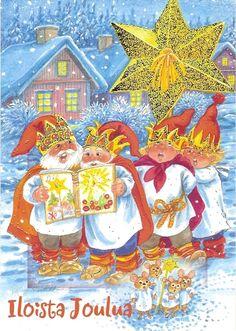 Marja-Liisa Pitkäranta, Christmas card 10 x 15, Finland