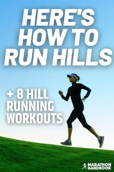 The effectiveness of hill running cannot be underestimated – if you're looking for one workout that makes you faster, stronger, and go further, run hills.Hill runs were a staple for British athlete Sebastian Coe, who built up strength in his formative years by using a variety of hills in the streets of his hometown Sheffield. Running Workout Plan, Hill Workout, Running Guide, Travel Workout, Marathon Training For Beginners, Running For Beginners, Half Marathon Training, Training Plan, Cross Training