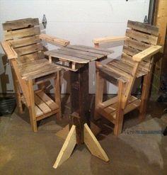 pallet furniture plans.