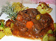 Joue+de+boeuf+et+paleron+en+daube+marinade ++    cuisineregionale.fr+de+vraies+recettes+réalisées+par+de+vrais+internautes