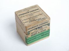 Antique Thirties Vintage Pharmaceutical by goodiesoldies on Etsy, $13.00