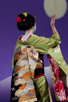 Japan traditional costume decor with a lot of fussy detail. Source by mmhhxx